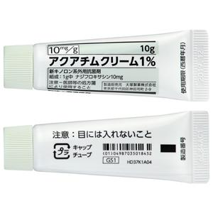 アクアチムクリーム1% 10g×1本
