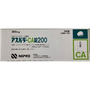 アスパラ‐CA錠200:100錠(10錠×10)PTP