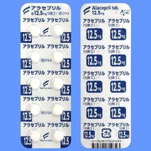 アラセプリル錠12.5mg「日医工」 10錠×10シート