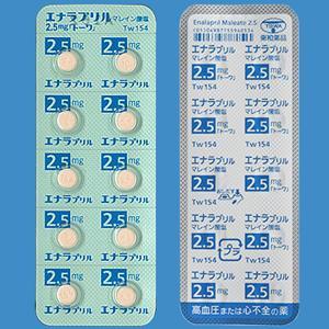 エナラプリルマレイン酸塩錠2.5mg「トーワ」 10錠×10シート