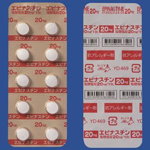 エピナスチン塩酸塩錠20mg「YD」:50錠入