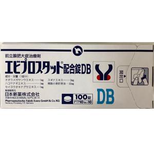 エビプロスタット配合錠DB:100錠(PTP)
