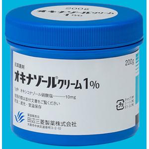 オキナゾールクリーム1%:200g(ポリ容器)