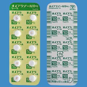 オメプラゾール錠10mg「トーワ」 20錠(10錠×2)