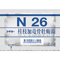 コタロー桂枝加竜骨牡蛎湯エキス細粒(N26):42包(14日分)