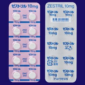 ゼストリル錠10 50錠(10錠×5)