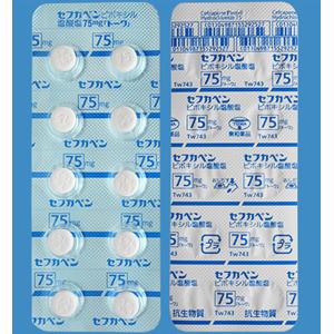 塩酸 75mg ピボキシル セフ カ ペン 塩 錠