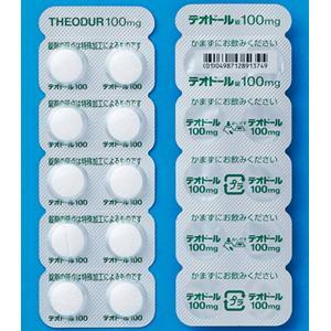 テオドール錠100mg 100錠(10錠×10)