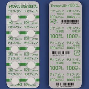 テオフィリン徐放錠100mg「サワイ」 100錠