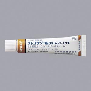 ケトコナゾールクリーム2%「イワキ」:10g×5本(旧販売名:ニトラゼンクリーム)
