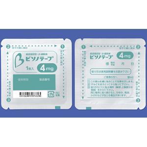 ビソノテープ4mg 14枚
