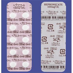 ヘプロニカート錠100mg「CH」:100錠(10錠×10)