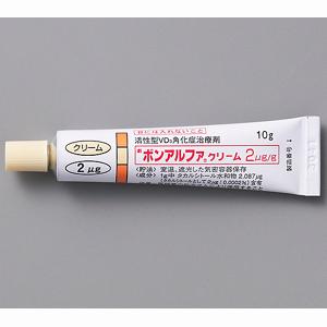 ボンアルファクリーム2μg/g 10g
