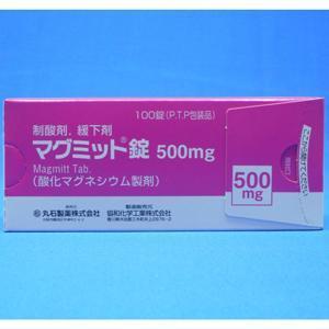 マグミット錠500mg:100錠