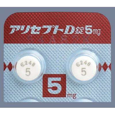 #アリセプトD錠5mg 14錠(14錠×1シート)
