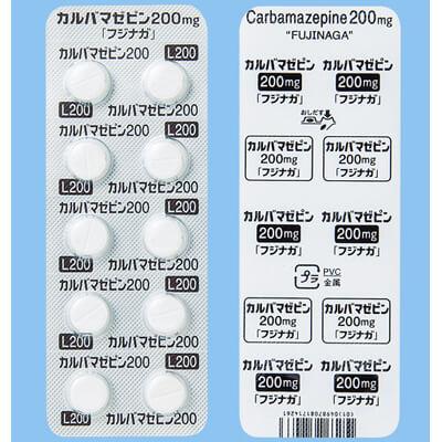#カルバマゼピン錠200mg「フジナガ」 90錠(10錠×9シート)(レキシン錠200mg)