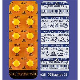 #チアプリド錠25mg「JG」 100錠(10錠×10)(チアラリード錠25mg)