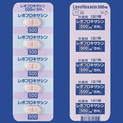 レボフロキサシン錠500mg「杏林」 10錠
