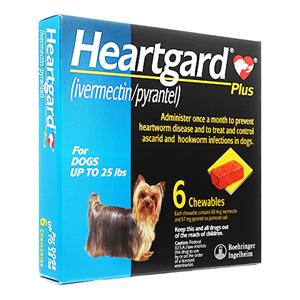HeartGardPlus(12kg未満用)6個 2箱