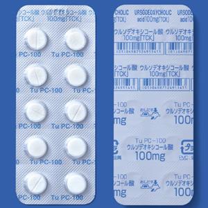 ウルソデオキシコール酸錠100mg「TCK」 100錠(PTP)