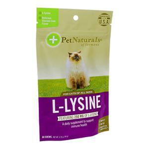 (PetNaturals)L-リジン(猫用)60錠 3袋