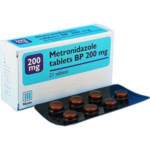 メトロニダゾール200mg21錠 5箱