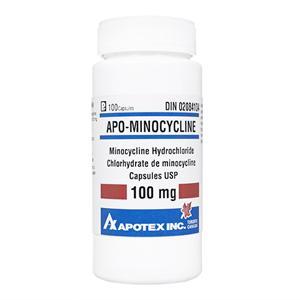 APO-Minocycline100mg100錠 1本