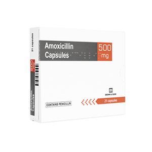 アモキシシリン500mg21錠 2箱