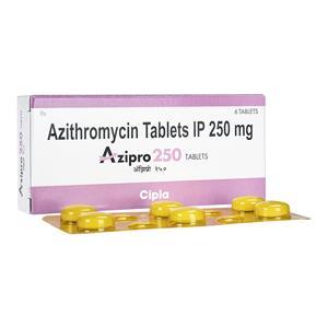 アジスロマイシン250mg6錠 3箱