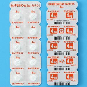 カンデサルタン錠4mg「あすか」:50錠(10錠×5)