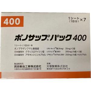 ボノサップパック400:7シート(1シート×7)