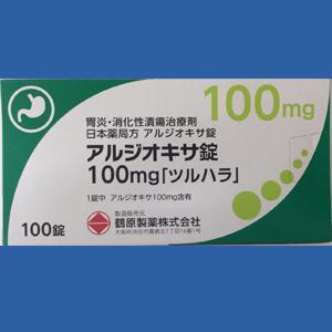 アルジオキサ錠100mg「ツルハラ」:100錠入