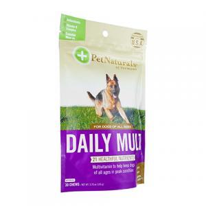 (PetNaturals)デイリーマルチタブ(犬用)30錠 3袋