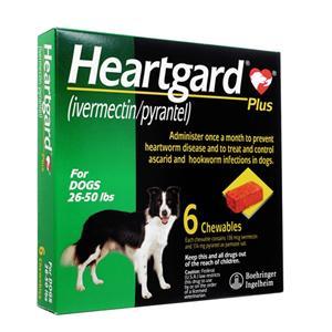 HeartGardPlus(12kg~23kg用)6個 1箱