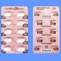 シンバスタチン錠20mg「NikP」 10錠(10錠×1)