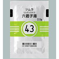 ツムラ六君子湯エキス顆粒(43):189包