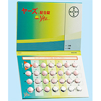 ヤーズ配合錠 PTP 28錠(使用期限:2020年10月)