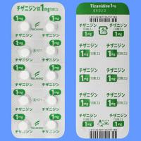 #チザニジン錠1mg「日医工」 100錠(PTP10錠×10) (チザニン錠1mg)