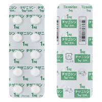 #チザニジン錠1mg「杏林」 100錠(旧販売名:ギボンズ錠1mg)