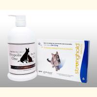 ストロングホールド45mg(2.6kg〜7.5kgの猫用)6本+プロポリスワン・ペット用シャンプー1000ml1本 1セット