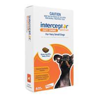 Interceptor[~4kg超小型犬用]6チュアブル 1箱