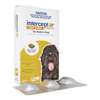 Interceptor[11-22kg中型犬用6チュアブル 1箱