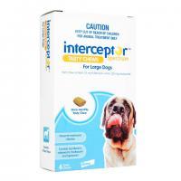Interceptor[22-45kg大型犬用]6チュアブル 1箱