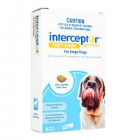 Interceptor[22-45kg大型犬用]6チュアブル 2箱