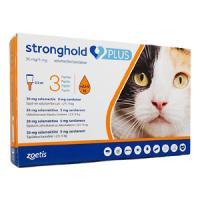 ストロングホールドプラス猫用(2.5-5kg)3本 1箱