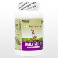 (PetNaturals)デイリーマルチタブ(犬用)60錠 1本
