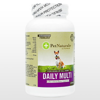 (PetNaturals)デイリーマルチタブ(犬用)60錠 3本