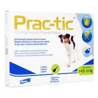 プラクティック137.5mg小型犬用(4.5-11kg)3本 4箱