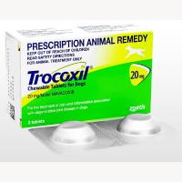 トロコキシル20mg犬用2錠 1箱