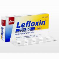 Lefloxin100mg10錠 1箱